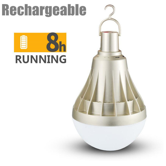 USB rechargeable LED bulb portable lighting dimmable led lamp outdoor emergency lighting 20W 30W 65W rechargeable LED bulb
