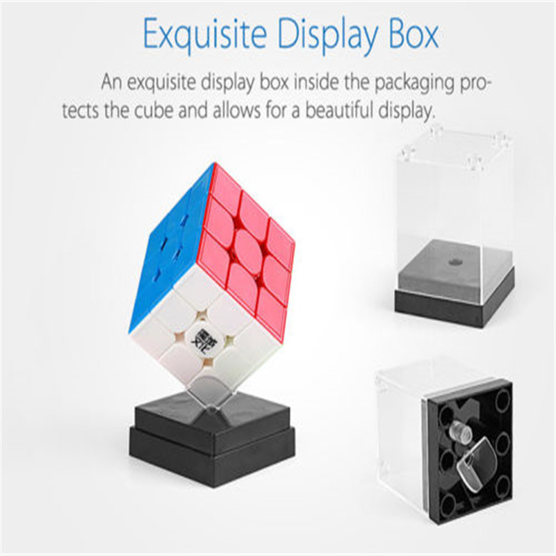 Moyu WeiLong GTS 3M 3x3 Magnetic Magic Cube Twisty Puzzle Funny Toys Multi-Color