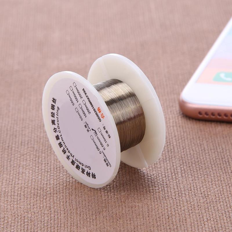 Image 3 - 3pcs/Set Separating Yarn Dissection Sticks Steel Wire Cutting Line Detach for LCD Screen Phone Repairing Tool Set 100m/328ft-in Tool Parts from Tools