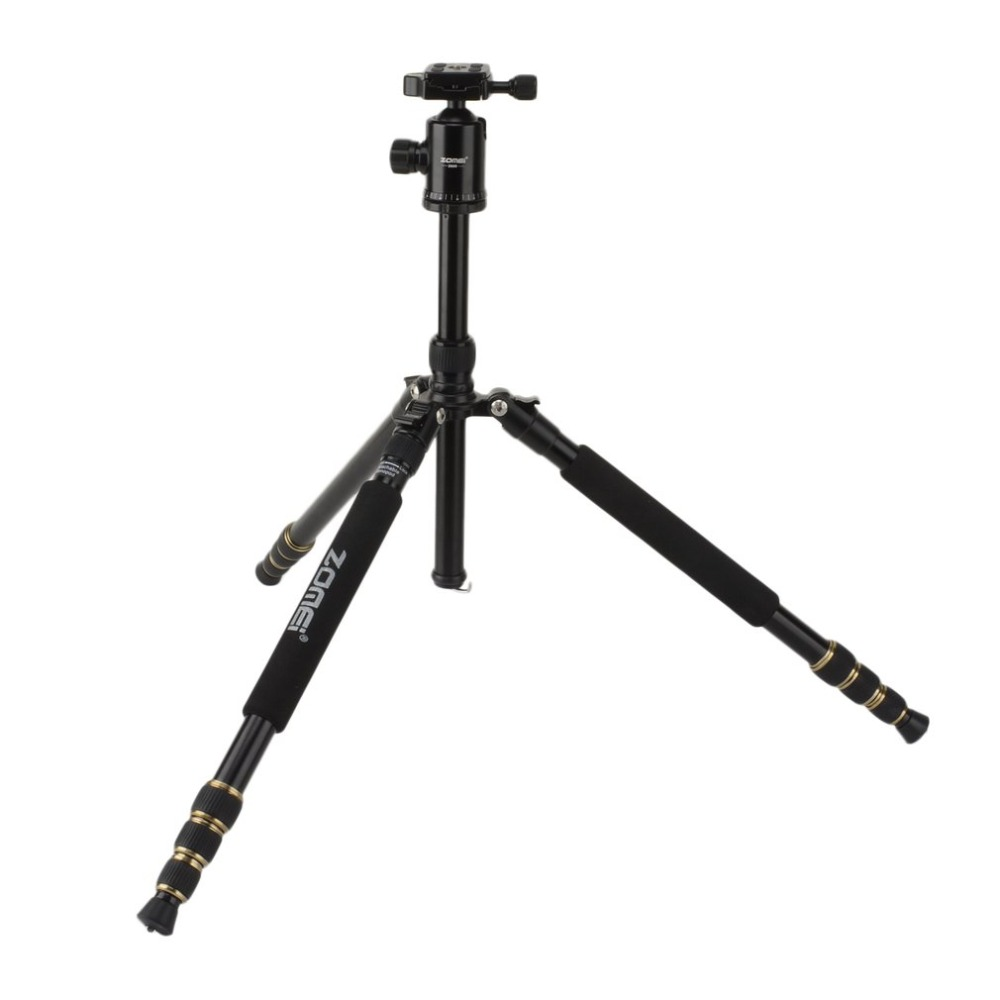 ZOMEI Reise Portable Professional Stativ Einbeinstativ 360 Grad Swivel Kugelkopf Für DSLR Kamera SLR Kamera Z688