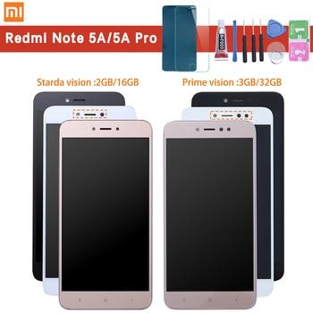 Xiaomi Redmi Note 5A LCD Tampilan Sentuh Layar Digitizer Assembly + Bingkai Penggantian untuk Xiaomi Note 5A Prime/Pro y1 Y1 Lite