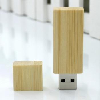 Classic Wooden USB Flash Drive 32GB 8GB 16GB 64GB Mini Cle USB 3.0 Pen Drive 128GB Flash Memory Stick Card Disk On Key 1TB Gift