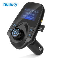 Nulaxy Wireless FM Transmitter Car MP3 Audio Player Handsfree Car Kit With LCD Display And 5V