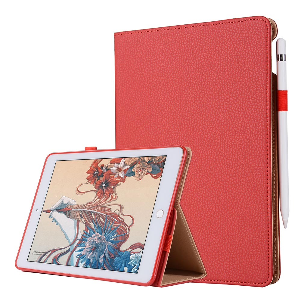 For iPad 9 7 2017 Snow Business Smart Tablet Case Cover High Quality PU Leather Folding