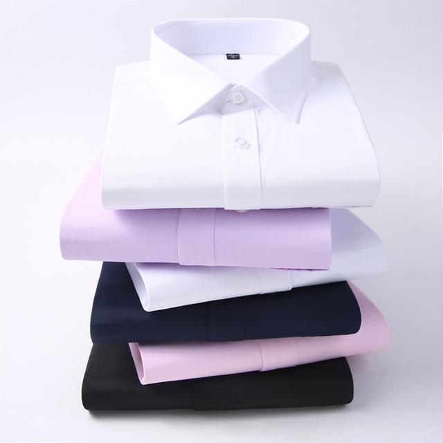 Men's Plain Formal Shirt (Sizes : XS to 7XL)