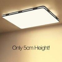 IMINOVO LED Ceiling Surface Mounted Modern Led Crystal Ceiling Lights For Living Room Light Fixture Indoor