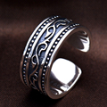 S925 Solid Silver Rings for Women Jewelry 100% Real Genuine 925 Sterling Silver Ring Open Size HYR22