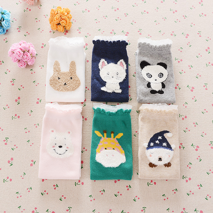 newest cute cartoon baby knee high socks boys girls kids cotton knee dress socks leg warmers chidren knee pads meias boots sock