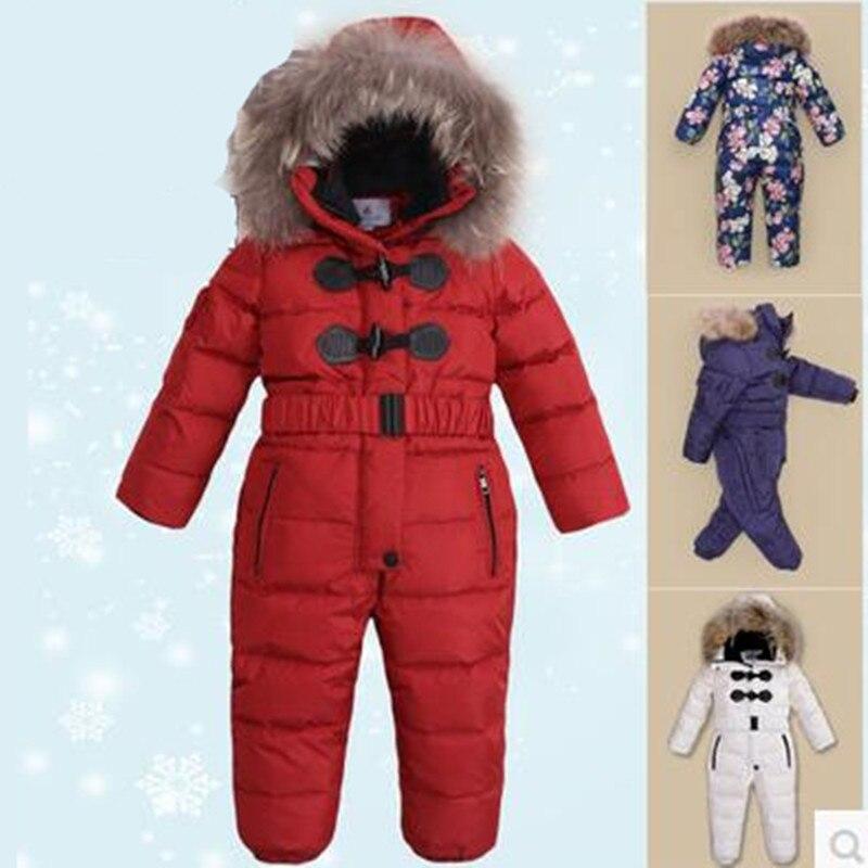 cbb24632d1ec Russian Winter Suits Children s Clothing Sets Warm Baby Boy Ski ...