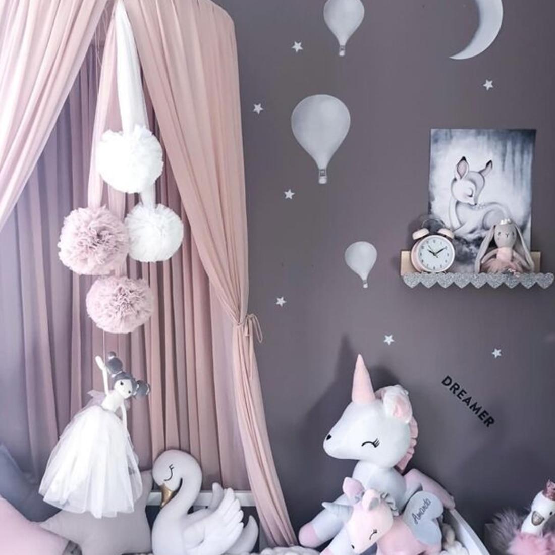 4 Farben Kinder Jungen Madchen Prinzessin Baldachin Bett Volant