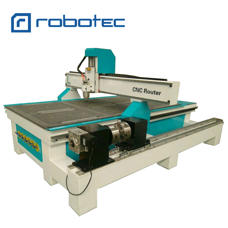 Heavy Duty 3d Cnc Wood Milling Machine/4'th Axis Wood 1325 Cnc Router For Door Making