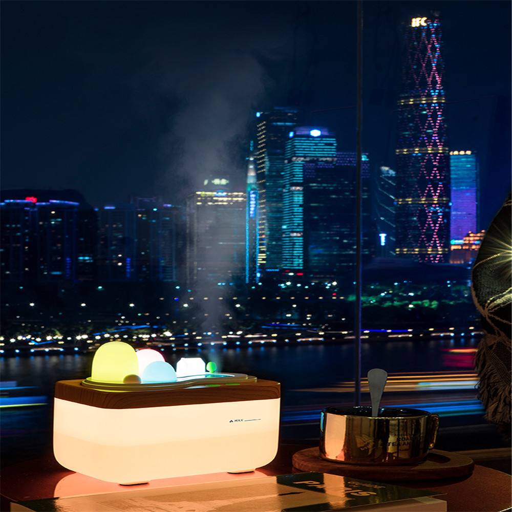 Humble 2018 Innovation Office Desktop Decoration Humidifier And Festival Gifts Bedside Night Light Diversified In Packaging