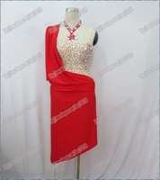 Hot Sale 2013 Rumba Jive Chacha Latin Dance Dress Ballroom Dress Latin Costume Women L 0032