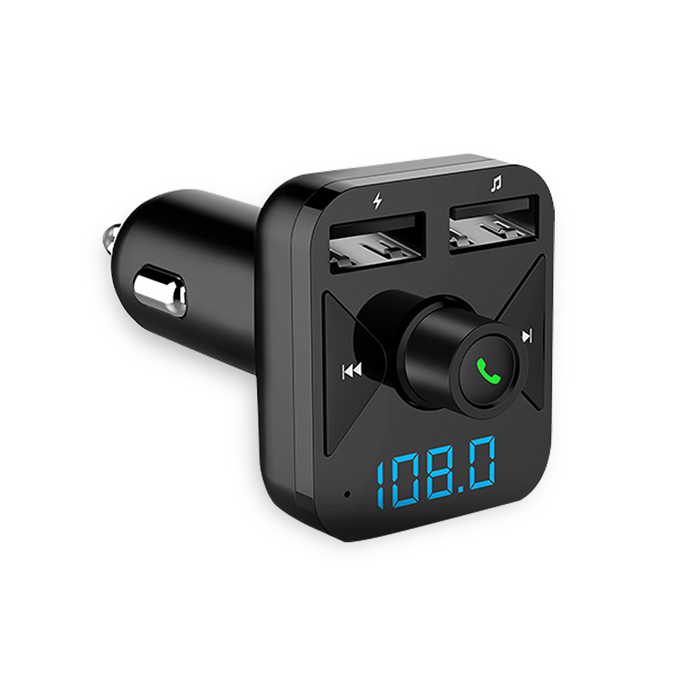 Selfless Car Mp3 Music Audio Player With Fm Wireless Hands-free Bluetooth Car Kit Support Folder Switch Voltmeter Tf Card U Disk