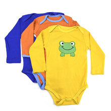 3pcs Cartoon Baby Bodysuit Girls Boys Winter Clothes Newborn Infant Body Bebes Baby Jumpsuit Ropa Sleeve