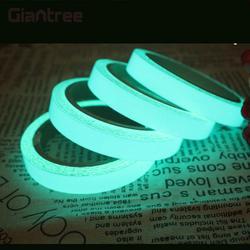 Giantree 2 سنتيمتر × 1 متر الشريط 5 اللون الوهج مضيئة الشريط شريط عاكس عاكسة سلامة المواد الأزياء diy ملصقا ذاتية اللصق