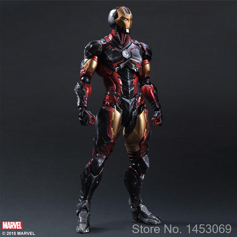 ФОТО SQUARE ENIX Variant Play Arts Kai Marvel Iron Man PVC Action Figure Collectible Model Toy 35cm KT1686