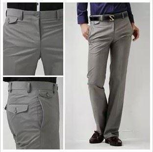 new 2014 Hot Sale Men's Suit Pants Flat Business Casual Trousers ...
