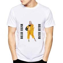 2019 Summer Newest Billie Eilish T Shirt Men Hip Hop White Casual Cotton O-neck Fashion Print Tops T-shirt Homme Unisex Camiseta