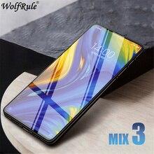 Full Glass For Xiaomi Mi Mix 3 Tempered Glass Xiaomi Mi Mix 3 Screen Protector 9H Full Glue Glass For Xiaomi Mi Mix 3 Mix3 6.39 аксессуар чехол df для xiaomi mi mix 3 xiflip 37