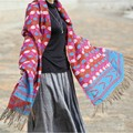 P spot in the cloud flash super - thick warm winter blended wool shawl, scarf shawl explosion
