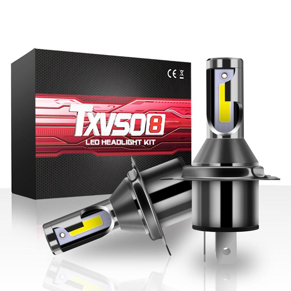 M4 Car Led Headlight H4 Hi/Lo Beam LED Bulb Lossless Installed 26000 LM 6000K 12V 110W LED Headlight Bulbs Car Accessories