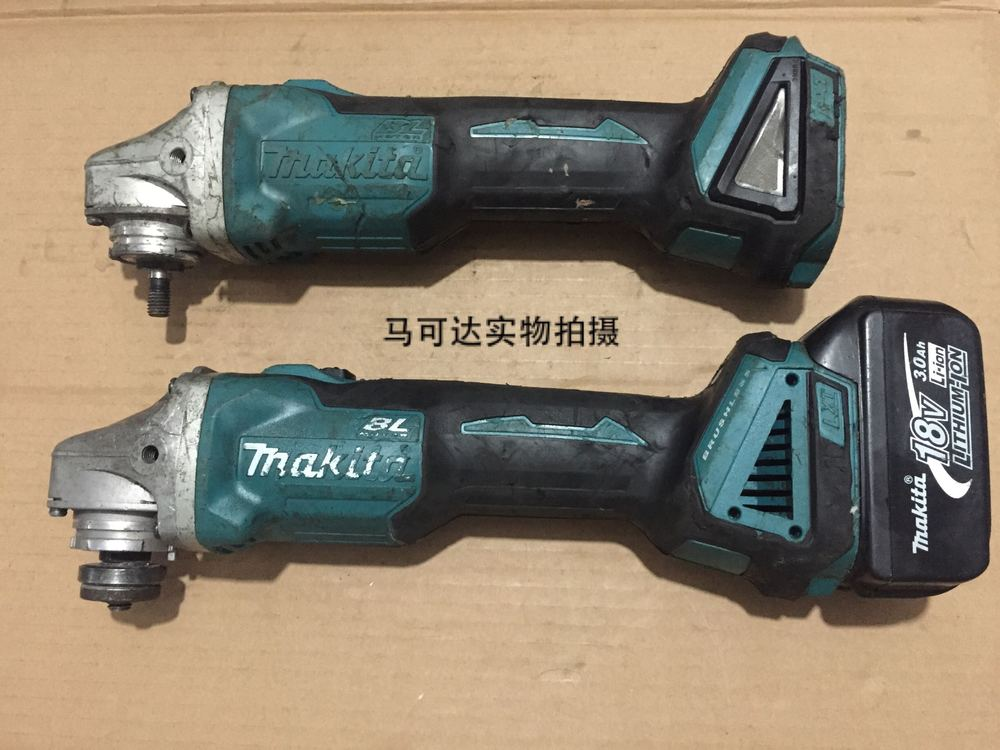 makita brushless angle grinder