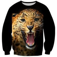 Sweatshirt Children Pullover Animal Print Fleece Baby-Boys-Girls Tiger Skull 3D Tops