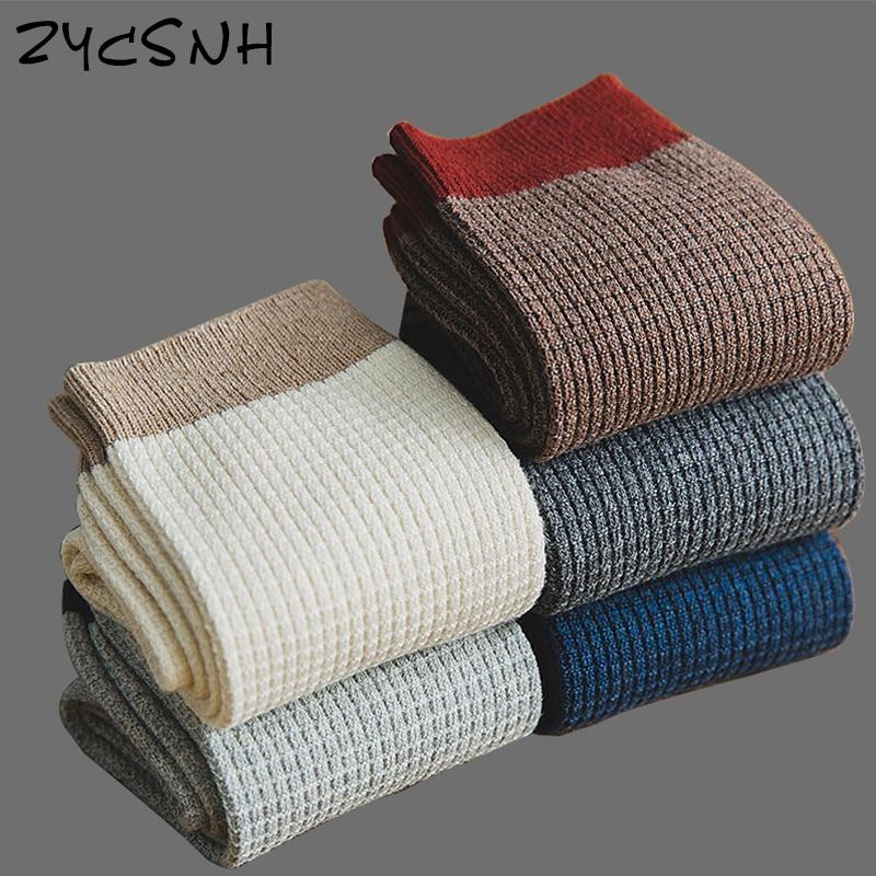 2020 Brand new High Quality Men cotton Harajuku happy socks Compression Socks Men