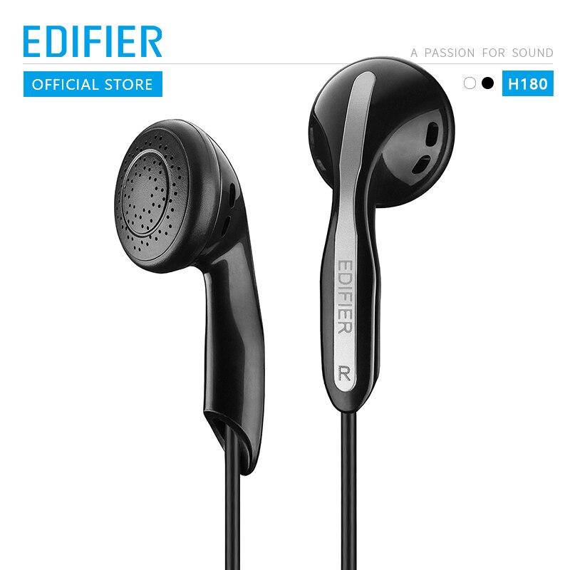 Edifier h180 confortável ajuste acessível de alta qualidade clássico fone de ouvido conectar a uma variedade de dispositivos preto & branco disponível