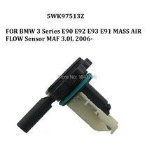 5WK97513Z FOR BMW 3 Series E90 E92 E93 E91 MASS AIR FLOW METER SENSOR MAF 3.0L 2006- OE# 16327585680 , 7585680 mass air flow meter maf sensor for bmw x3 x5 x6 730d 740d 750d 640d 530d 535d 330d 13 17 13627804150 7804150 afh70m 81 afh70m81