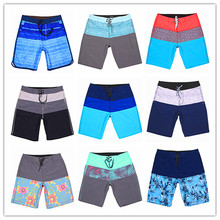 Calvn PuLL 2019 Phantom Beach Board Shorts Elastic Spandex Men Swimwear Sexy Adults