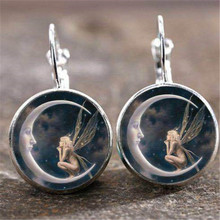 Hello Miss New alloy pendant earrings fashion retro style creative gifts womens