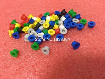 200 sztuk partia A101 plastikowy przełącznik przycisk czapki Push Key czapki Multicolor rozmiar 4 5mm * 7 4mm kształt kapelusza (dla 6*6 okrągłe przełączniki taktowe) tanie i dobre opinie Plastic lot (200 pieces lot) 0 025kg (0 06lb ) 7cm x 2cm x 6cm (2 76in x 0 79in x 2 36in)