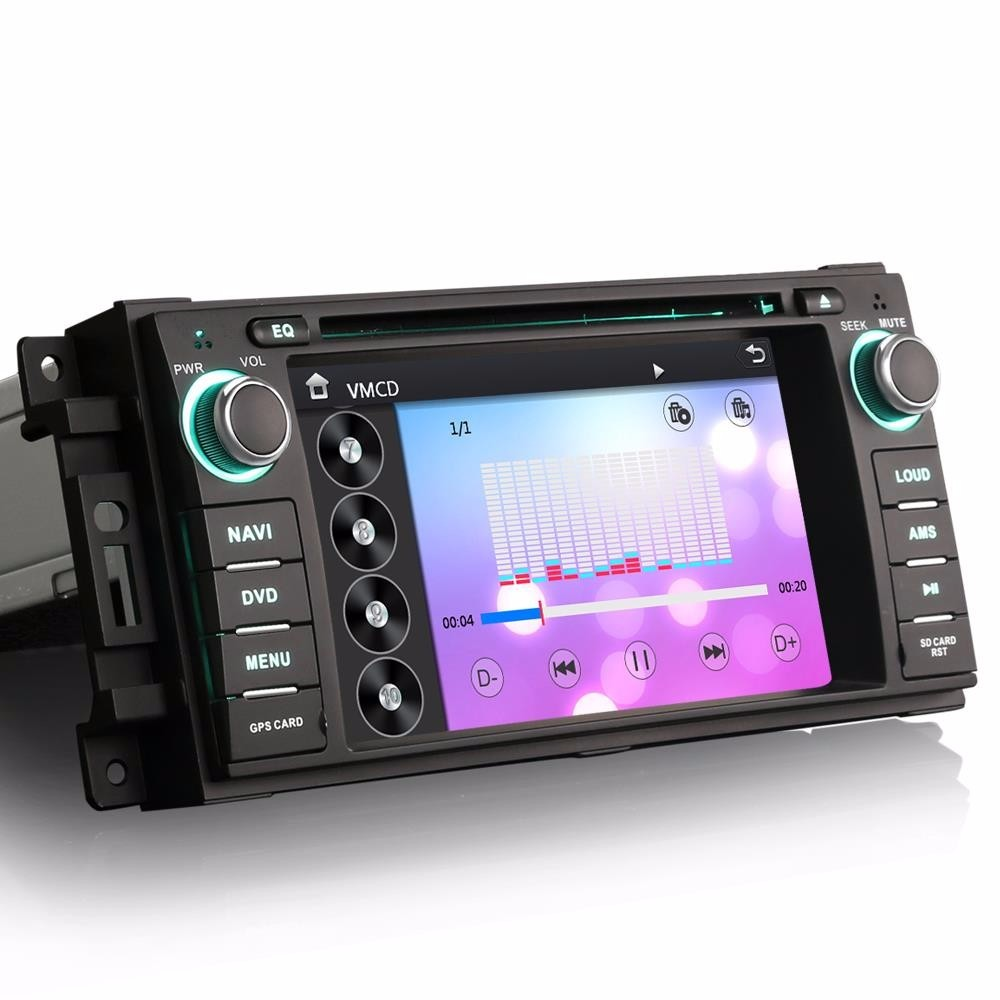 Car DVD GPS Navigation for Dodge Avenger Challenger Magnum Nitro Journey Jeep Patriot 2005 2006 2007 2008 2009 2010 to 2013 2014