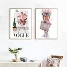 Vogue Girl Canvas Pa...