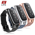 2016 nueva ttlife smart watch pulsera deportes bluetooth 4.0 auriculares sleep monitor de gimnasio rastreador reloj para ios android teléfono