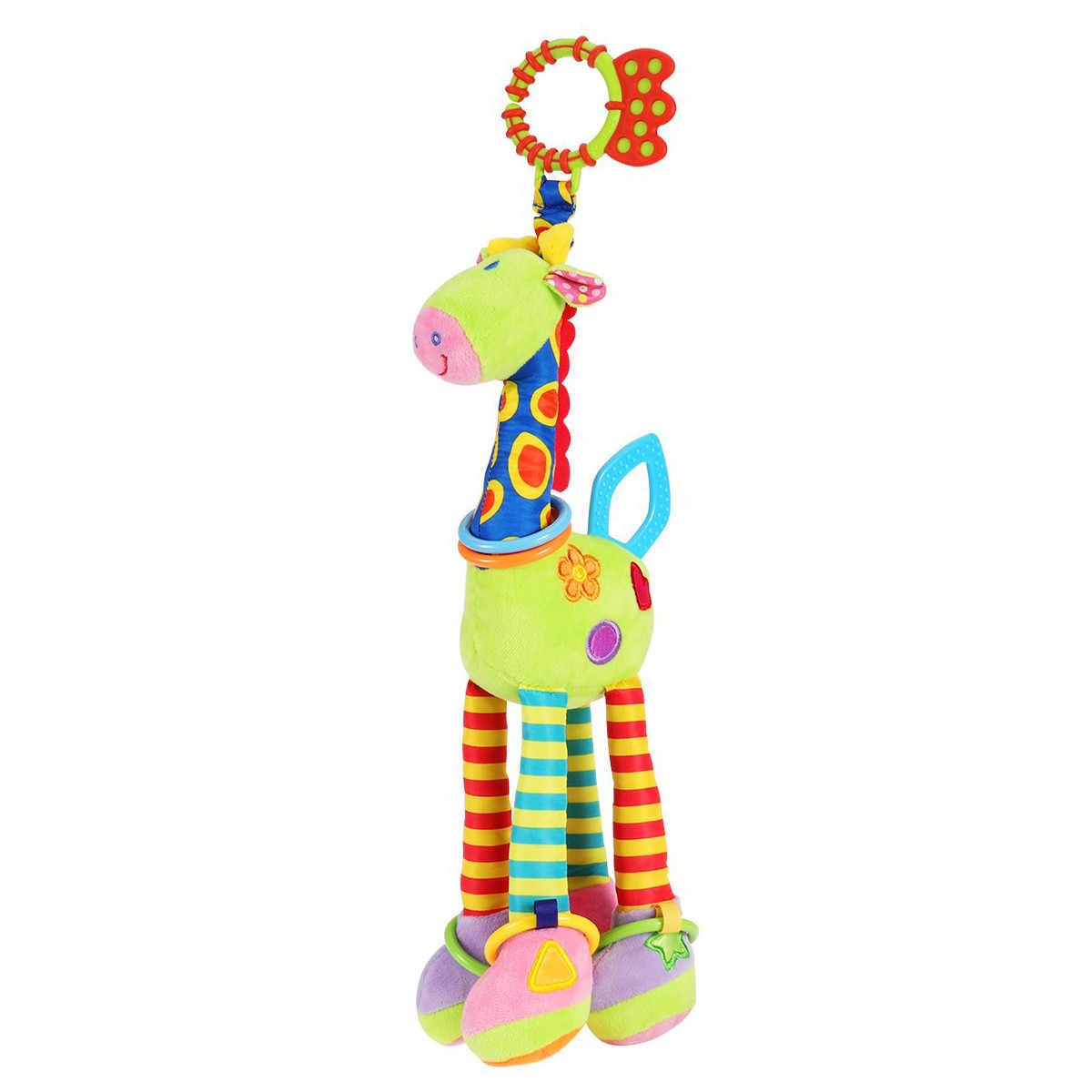 HIINST Pikachu Plush เด็กทารก Spiral รถเข็นเด็กของเล่นลิงช้างการศึกษาตุ๊กตาของเล่นเด็ก Plush MAR20