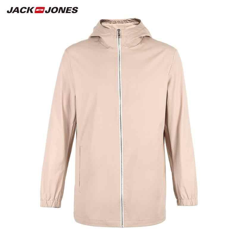 Jackjones Nam Cotton Mũ Trùm Áo Khoác Dài Tay E | 219121565