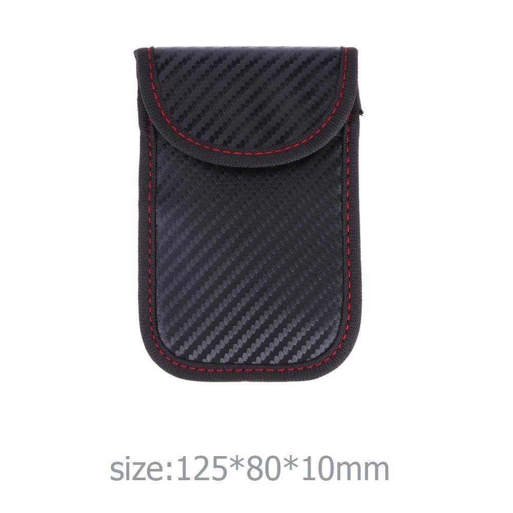 Phone Keyless RFID  Safe Car Key  Signal Blocker Case Fob Pouch  Faraday Cage