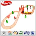 Новое поступление детские игрушки деревянный комплект поезд 8 макет 37 шт. поезд / дорожки установить деревянные игрушки бука орбитальная блоки образовательных подарок