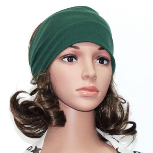 OPPOHERE Women Headband Hairband Elastic Hair Band Turban