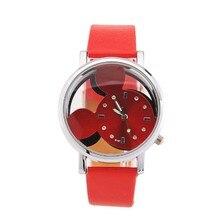 New Fashion Adorable Design Candy Color Cute Girls Quartz Cute Wrist Watch High Quality Children Digital Wristwatches Clock PT