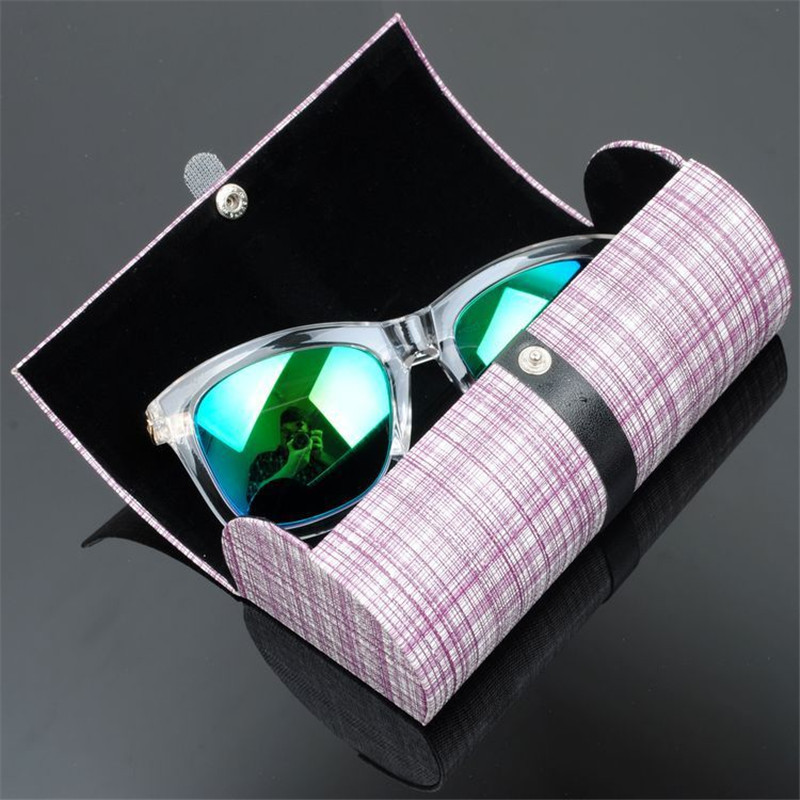 Vazrobe Top Quality Plaid Sunglasses Case U0026 Oversized Spectacles Boxes  Portable Storage For Glasses Frame Large Size Button Blue In Accessories  From Menu0027s ...