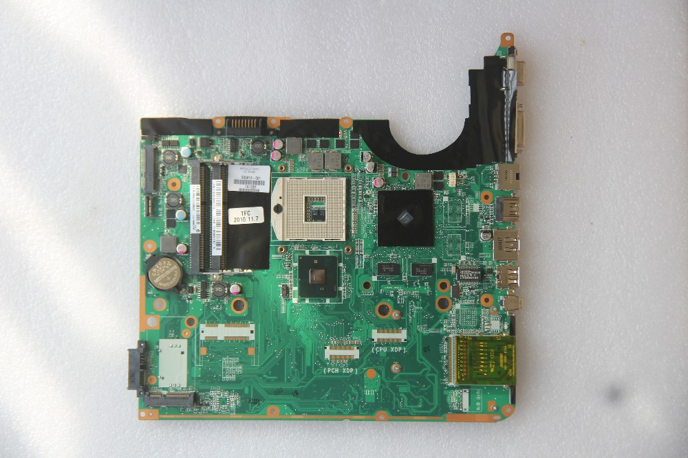 600816-001 For HP DV6 Laptop motherboard DA0UP6MB6F0 with N10M-GE-B-A2 GPU Onboard HM55 DDR3 fully tested work perfect direct heating n14p gv2 b a1 n13m ge b a2 n14m gl b a2 n14m ge b a2 n13m ge1 b a1 stencil
