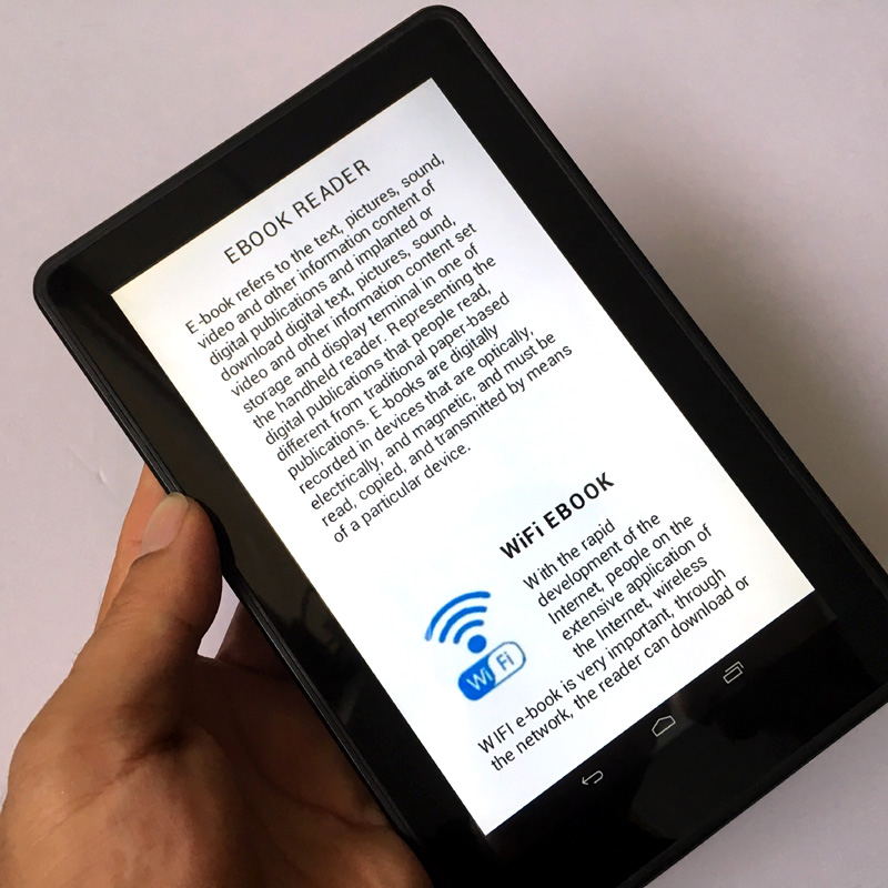 Leitor de ebook momomo inteligente android wi fi sem fio jogador e001 6 stopboris Choice Image