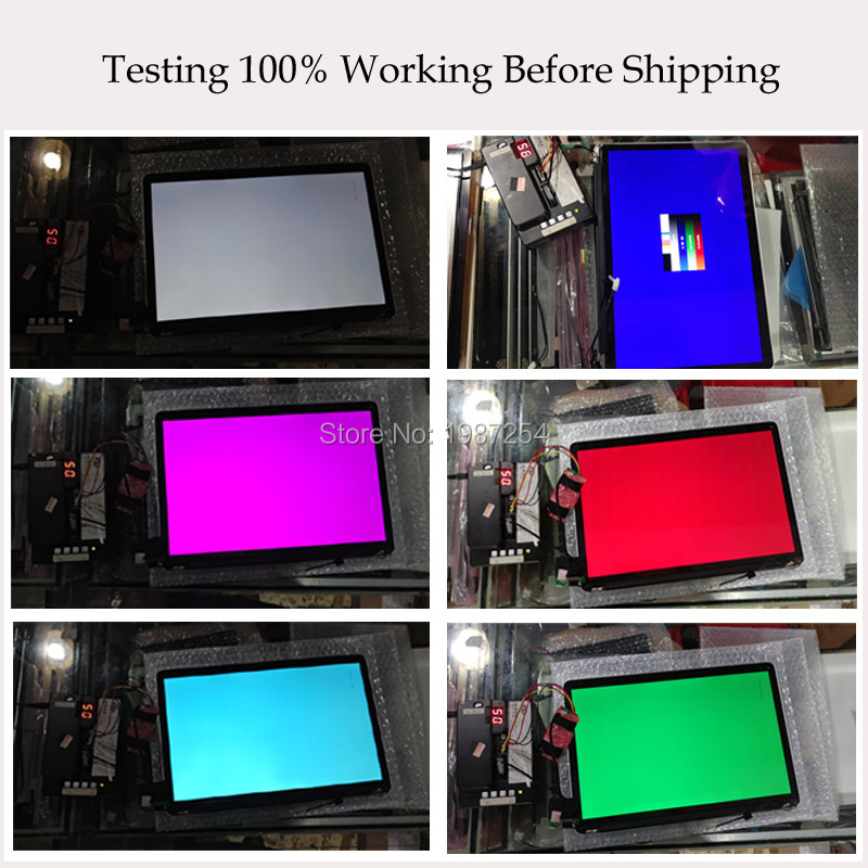 Retina LCD Screen Assembly Testing no logo