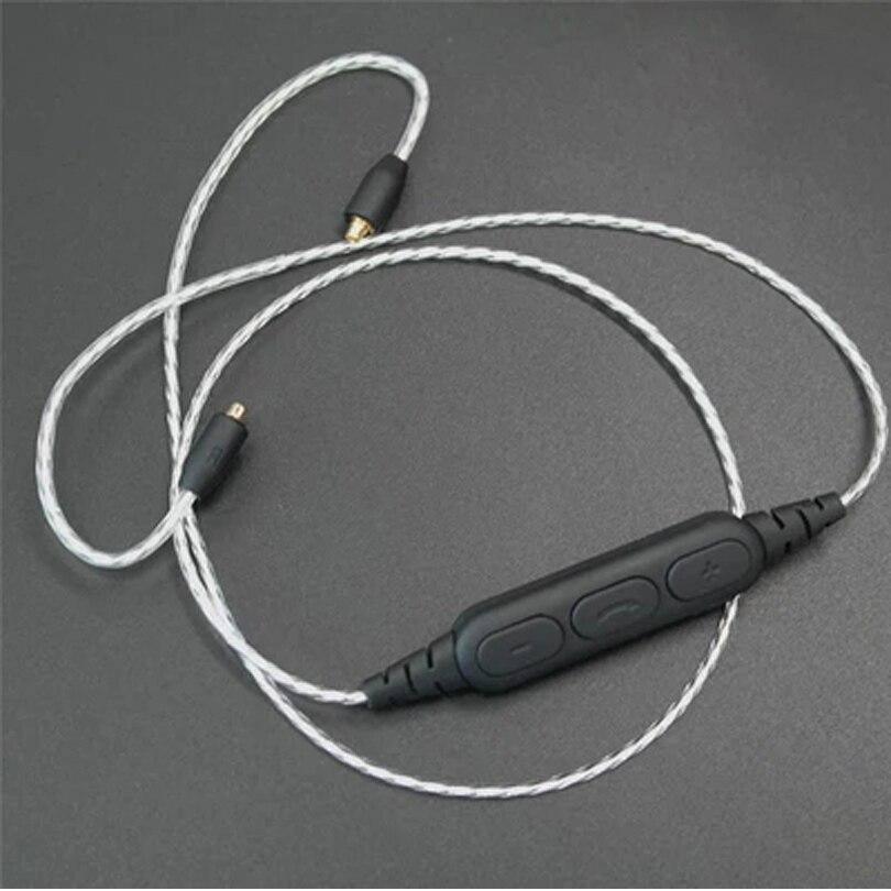 izk newest BT2 Sport Wireless wire bluetooth 4.1 headset upgrade Earphone MMCX Cable for SE215 se315 se535 se846 UE900 freeship sport elite se 2450