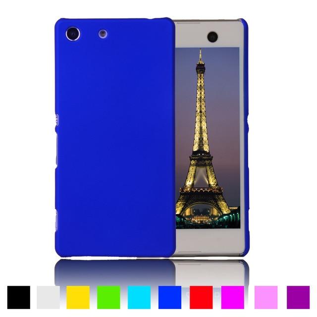 save off 69a2b 5b845 US $3.07 |Aliexpress.com : Buy Matte Rubberized Hard Plastic Case For Sony  Xperia M5 Dual E5603 E5606 E5653 E5633 E5643 E5663 Back Cover Phone ...