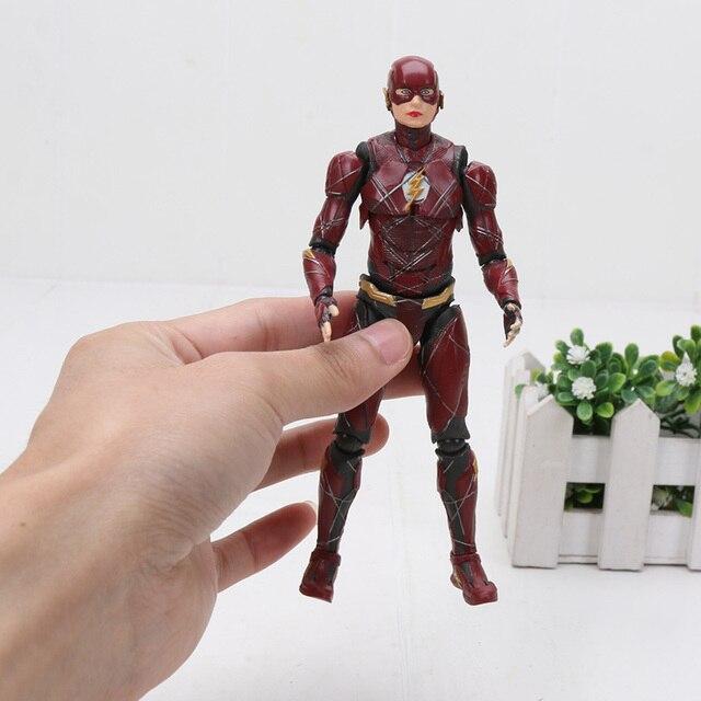15 cm Marvel the avengers Figuras SuperHeroes Brinquedo SHFiguarts O Flash Justice League Action Figure Brinquedos Modelo Gift Collection